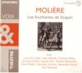 Molière - Les fourberies de scapin. 1 CD audio