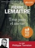 Pierre Lemaitre - Trois jours et une vie. 1 CD audio MP3