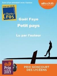 Gaël Faye - Petit pays. 1 CD audio MP3