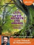 Peter Wohlleben - La vie secrète des arbres. 1 CD audio MP3