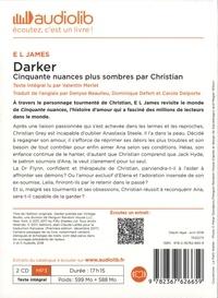 Fifty Shades Tome 5 Darker. Cinquantes nuances plus sombres par Christian -  avec 2 CD audio MP3