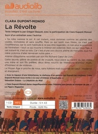 La révolte  avec 1 CD audio MP3