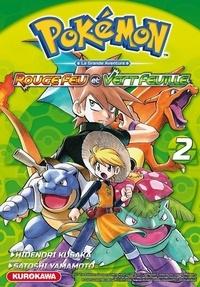 Hidenori Kusaka et Satoshi Yamamoto - Pokémon la grande aventure Tome 2 : Rouge Feu et Vert Feuille.