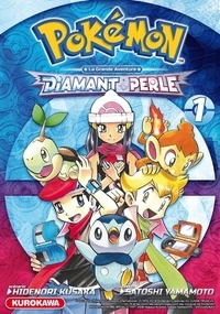 Hidenori Kusaka - Pokémon Diamant et Perle - La grande aventure Tome 1 : .