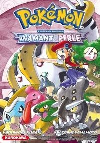 Hidenori Kusaka et Satoshi Yamamoto - Pokémon Diamant et Perle - La grande aventure Tome 4 : .