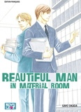 Sayo Okada - Beautiful man in material room.