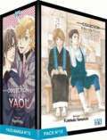 Osp Editions - Collection Yaoi Pack N° 15 - 5 mangas : Love is close ; The Pumpkin Prince ;  Let's pray with the priest ;  Let's eat breakfast ! ; They are Not Seen.
