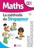 Librairie des Ecoles - Mathématiques CE1 La méthode de Singapour - Guide pédagogique.