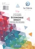 Bruno Charmoille et Karima Rabehi - Economie-Droit tous Bac Pro tertiaires - Sujets d'examen et d'entraînement.