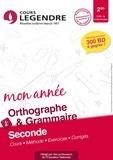 Cours Legendre - Orthographe grammaire 2de.