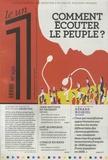 Julien Bisson et Eric Fottorino - Le 1 N° 232 : Comment écouter le peuple ?.