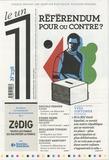 Julien Bisson - Le 1 N° 238 : Référendum pour ou contre ?.