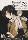 Kafka Asagiri et  Harukawa 35 - Bungô Stray Dogs Tomes 1 à 4 : Coffret en 4 volumes.