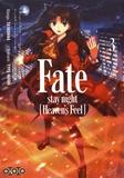 Taskohna et  Type-Moon - Fate/stay night (Heaven's Feel) Tome 3 : .