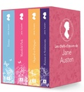 Jane Austen - Les chefs-d'oeuvre de Jane Austen - Coffret en 4 volumes : Raison et sentiments ; Orgueil et préjugés ;  Emma ; Mansfield Park ou Les trois cousines.