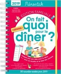 Emilie Thuillez - On fait quoi pour le dîner ? - De septembre 2018 à décembre 2019.