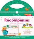 Editions 365 - Tableau de récompenses hebdomadaires pour enfants sages - Avec 3 planches d'étoiles autocollantes.