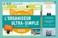 Editions 365 - L'organiseur ultra-simple pour les amoureux des chats - De janvier à décembre 2020.