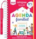 Editions 365 et  Nesk - Agenda familial Mémoniak - Tous les outils pour s'organiser en famille. Avec 1 stylo , 700 autocollants, 1 planche de blocs-notes autocollants.