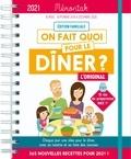 Emilie Thuillez et  Nesk - On fait quoi pour le dîner ? - Edition familiale. De septembre 2020 à décembre 2021.