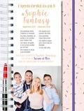Sophie Fantasy - L'agenda familial (ou pas) de Sophie Fantasy - Avec 1 stylo girly.