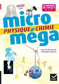 Christophe Daujean - Physique chimie 5e, 4e, 3e Micro méga.