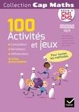 Roland Charnay et Bernard Anselmo - Cap Maths cycle 3 CM1-CM2 - 100 activités et jeux pour l'entraînement, la consolidation et la différenciation en mathématiques.