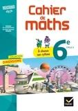 Françoise Braun et Stéphanie Favero - Mathématiques 6e, cycle 3, Dimensions - Cahier de maths.