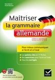 René Métrich et Armin Brüssow - Maîtriser la grammaire allemande - Niveaux B1/B2 du CECRL (lycée, classes préparatoires et université).