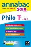 Stéphanie Ronchewski-Degorre et Didier Guimbail - Philosophie Tle séries L, ES, S - Sujets et corrigés.