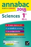Sylvie Guérin-Bodeau et Sonia Madani - Sciences 1re ES, L - Sujets et corrigés.