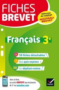Sylvie Dauvin et Jacques Dauvin - Fiches brevet Français 3e - fiches de révision pour le nouveau brevet.