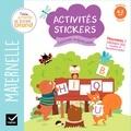 Hatier - Activités stickers lettres majuscules - Maternelle Moyenne Section 4-5 ans.