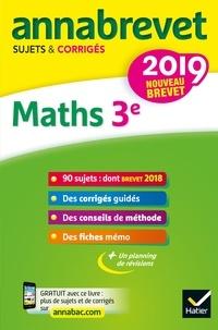 Bernard Demeillers et Emmanuelle Michaud - Mathématiques 3e - Sujets et Corrigés.