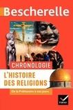 Marielle Chevallier et Cyrille Aillet - L'histoire des religions - De la Préhistoire à nos jours.