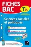 Franck Rimbert - Fiches bac Sciences sociales et politiques Tle ES - fiches de révision   Terminale ES.