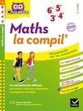 Gérard Bonnefond et Daniel Daviaud - Maths La Compil' 6e, 5e, 4e, 3e - cahier d entraînement en maths pour toutes les années du collège.