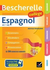 Monica Castillo Lluch et Jean-Baptiste Crespeau - Bescherelle Espagnol collège - grammaire, conjugaison, vocabulaire, prononciation (A1-A2).
