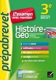 Marielle Chevallier - Histoire-géographie EMC 3e - Prépabrevet L'examen avec mention - fiches, méthodes et sujets de brevet.