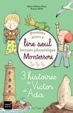 Marie-Hélène Place et Ronan Badel - 3 histoires de Victor et Ada - Coffret en 3 volumes : A l'école en gondole ; Petit veau ; Le phare de l'île.