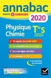 Caroline Adam-Paysant et Jérôme Fréret - Physique-chimie Tle S spécifique & spécialité - Sujets et corrigés.