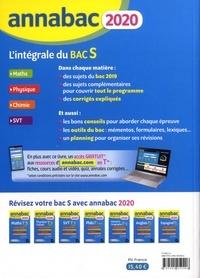 L'intégrale du Bac S. Sujets et corrigés  Edition 2020