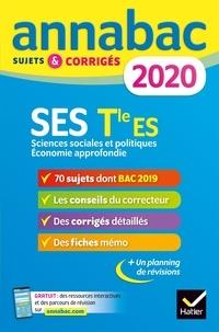Sylvie Godineau et Denis Martin - SES Tle ES Spécifique & spécialités - Sciences sociales et politiques, Economie approfondie. Sujets et corrigés.