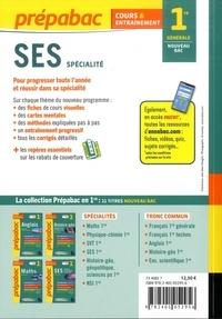Spécialité SES 1re  Edition 2019