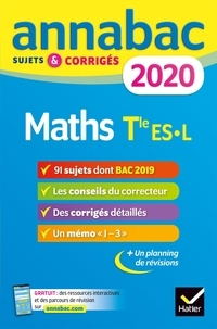 Martine Salmon - Maths Tle ES spécifique & spécialité, Tle L spécialité - Sujets et corrigés.