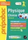 Joël Carrasco et Alexandra Chauvin - Physique-chimie 1re (spécialité) - Prépabac Cours & entraînement - nouveau programme de Première.