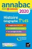 Christophe Clavel et Jean-François Lecaillon - Annales Annabac 2020 Histoire-Géographie Tle L, ES.