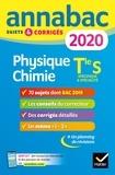 Caroline Adam et Jérôme Fréret - Annales Annabac 2020 Physique-chimie Tle S - sujets et corrigés du bac   Terminale S.
