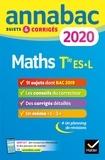 Martine Salmon - Annales Annabac 2020 Maths Tle ES, L - sujets et corrigés du bac   Terminale ES (spécifique & spécialité), L (spécialité).