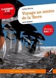 """Jules Verne - Voyage au centre de la Terre - Avec le parcours """"Science et fiction""""."""